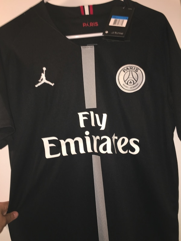 8e92a4860aa5ab Used PSG Home Jersey (Jordan Collab) for sale in Brookhaven - letgo