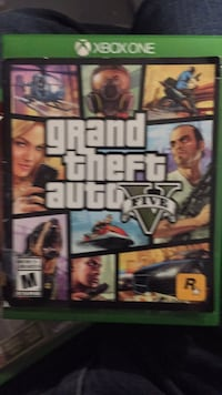 Grand Theft Auto Five Xbox 360 game case St Catharines, L2P 3T8