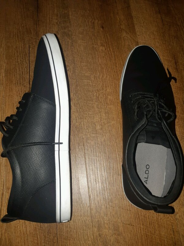 93d96c49a Used pair of black low top aldo sneakers for sale in Toronto - letgo