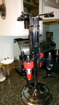 black and red upright vacuum cleaner Kelowna, V1Y 8S4
