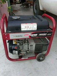 red and black portable generator Bakersfield, 93307