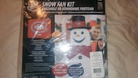 MONTREAL CANADIANS SNOWMAN FAN KIT (BRAND NEW)