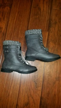 Brand NEW Grey Military Booties  Toronto, M4Y 0B9
