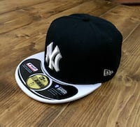 cap 59fifty snapback di New York in bianco e nero