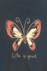 Life is Good T-shirt size S NWT Herndon, 20171