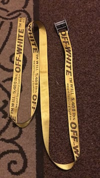 black and yellow Supreme lanyard Germantown, 20874