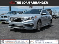 2016 hyundai sonata sport with 70,747km and 100% approved financing Peterborough