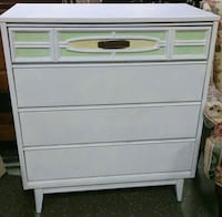 Bassett wood mid century chest of drawers dresser Clearwater, 33759