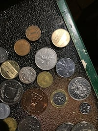 round silver and gold coins Surrey, V4P 5G7