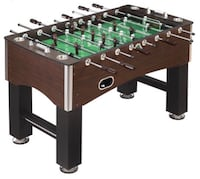 Brown and green foosball table Welland