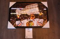 "Jonathan Toews Signed 20""x29"" Framed Canvas Vaughan, L4L 0G4"