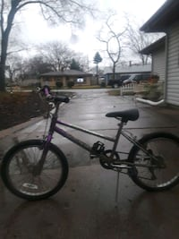 black and purple BMX bike Hammond, 46323