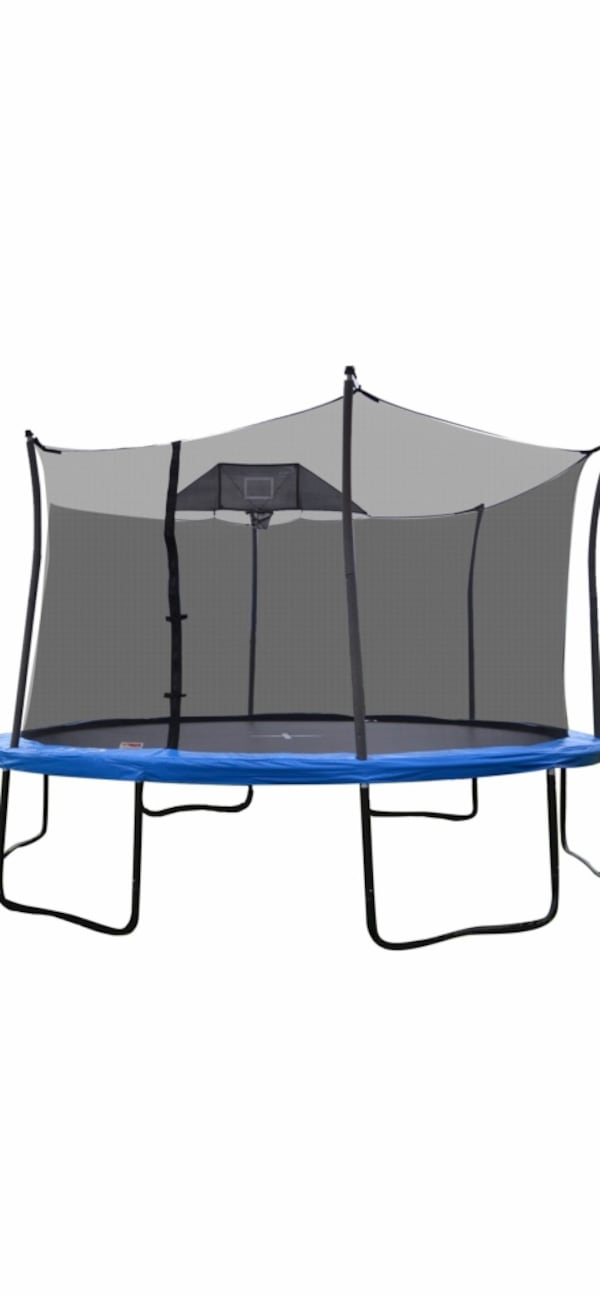 14FT TRAMPOLINE with BASKETBALL HOOP 9e4a1f87-9771-479d-ab73-6426067b3fa5
