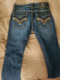 blue Miss Me denim jeans 3486 km