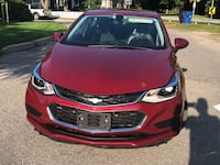 Chevy Cruze LT 2017/Very Clean/Low Mileage/Backup Cam/Bluetooth/Heated Seats Toronto