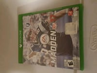 Xbox One Madden NFL 17 game case Porters Lake, B3E 1M2