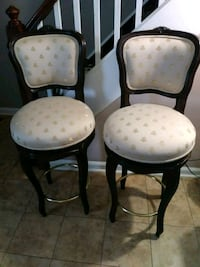 These 2 high chairs are very comfortable and they also spin