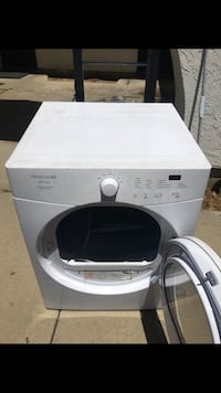 White front-load clothes dryer  Union City, 94587