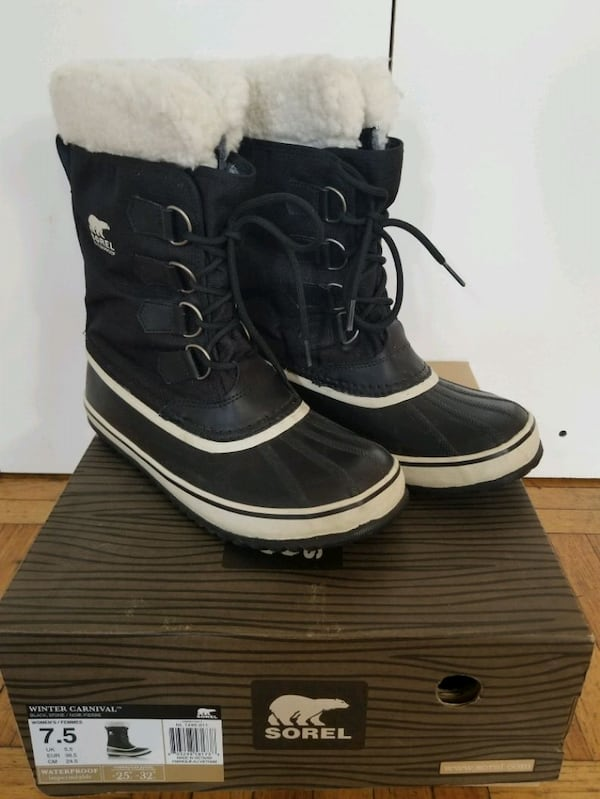 Almost new lady's SOREL winter boots. Size 7.5 aeb97862-2d20-4323-b5bc-a6137080b073