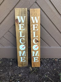Handcrafted pallet porch signs Avon
