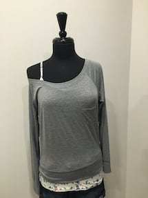 New off shoulder top + tank size M