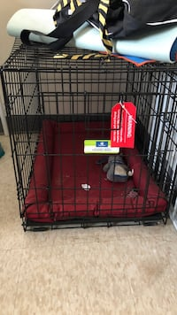 red and black pet cage Pittsburgh, 15212