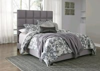 Dolante Gray Queen Upholstered Bed   Hillcrest Heights, 20748
