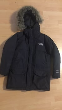 svart North Face zip-up hettegenser Drammen, 3035
