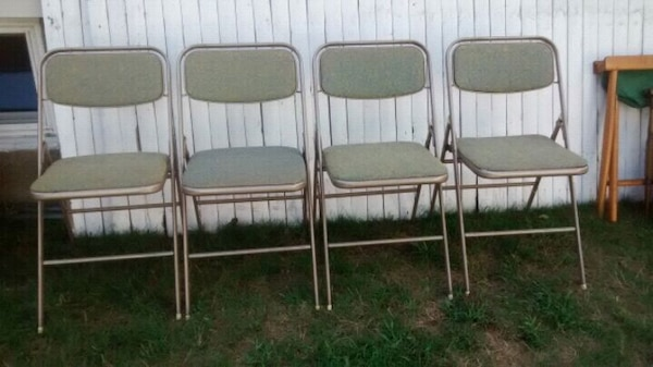 Tremendous Used Vintage Folding Chairs Reduced For Sale In Westfield Cjindustries Chair Design For Home Cjindustriesco