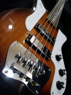Ibanez jet king electric bass guitar
