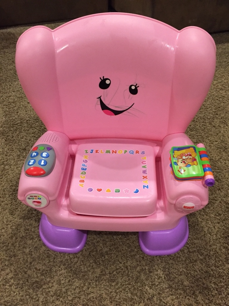 used fisher price learning chair 3 learning levels my daughter rh tr letgo com
