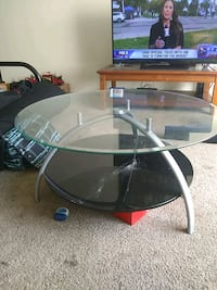living room glass table Southfield