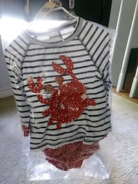 Size 4T crab outfit Silver Spring, 20904