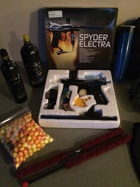 Spyder Electra paintball gun complete with all accessories Kelowna, V1W 4W8
