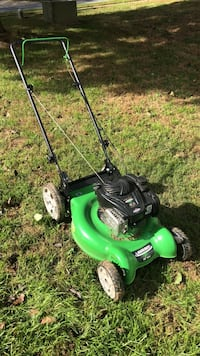 green and black push mower Germantown, 20876