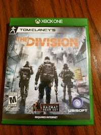 Tom Clancy's The Division Xbox One game case Slidell, 70460