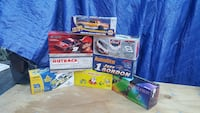 six scale model car boxes Cleveland, 44109