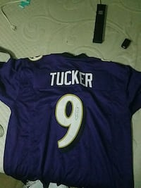 Tucker Jersey signed  Essex, 21221
