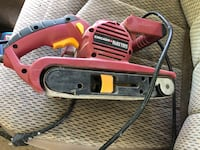 Chicago Electric Power Tools belt sander La Grange, 78945