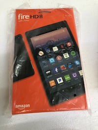 """Brand new, Sealed, Fire HD 8 Tablet (8"""" HD Display, 16 GB), Newest Release"""