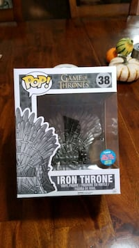 Funko Pop Game of Thrones 38 Iron Throne  New York Comic Con Limited E Union City, 07087