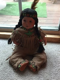 American Indian Porcelain Doll Hagerstown, 21740