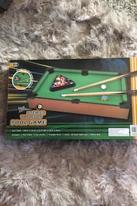 Pool table  office game New  large for