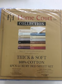 Twin size 4 pcs bedsheet set.new Milton, L9T 8G1
