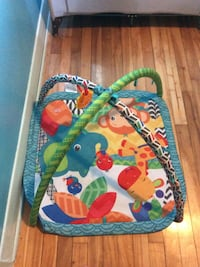 baby's multicolored activity gym Montréal, H1L 2N7