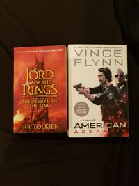 Lord of the Rings and American Assassin book Moonee Ponds
