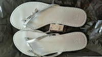 Brand new silver sandals Downey, 90242