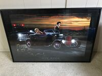 Beautiful Elvis and Marilyn photo professionally framed
