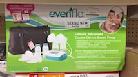 Evenflo advanced deluxe double breast pump  San Leandro, 94579