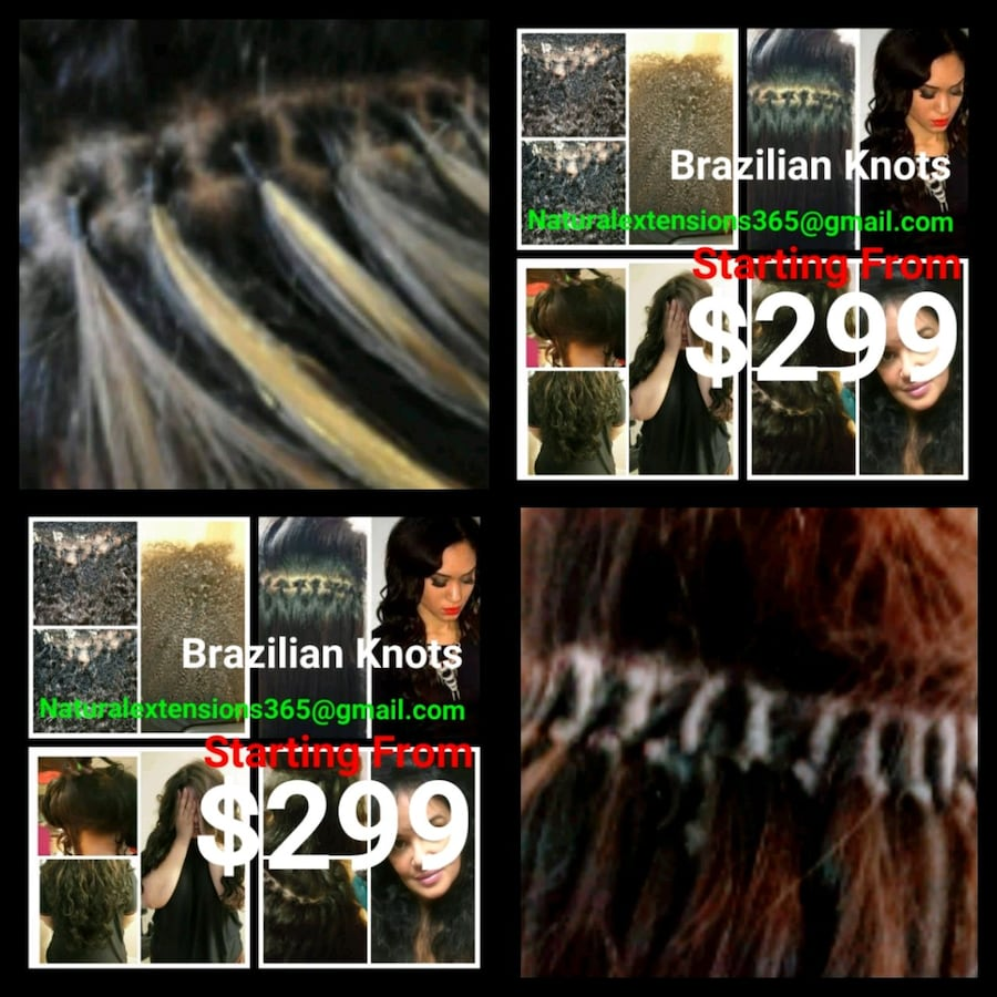 Professional traveling hair extension services